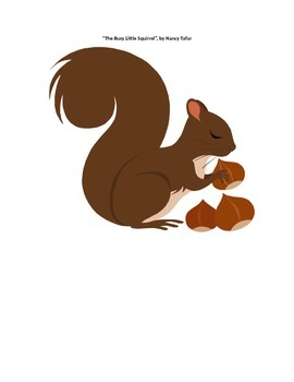 The Busy Little Squirrel Activitis