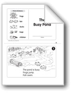 The Busy Pond (Level D)