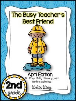 The Busy Teacher's Best Friend April Edition: SECOND GRADE