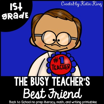 The Busy Teacher's Best Friend: Back to School Edition