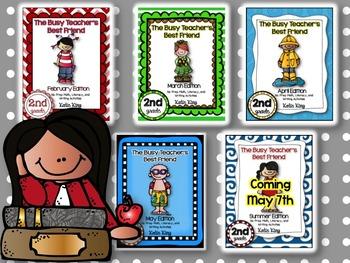 The Busy Teacher's Best Friend (February-Summer): SECOND GRADE