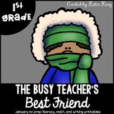 The Busy Teacher's Best Friend January Edition
