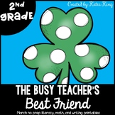 The Busy Teacher's Best Friend March Edition: SECOND GRADE