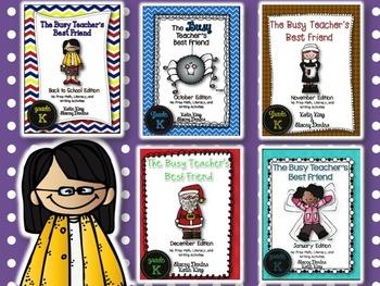 The Busy Teacher's Best Friend (September-January): Kinder