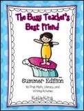 The Busy Teacher's Best Friend Summer Edition