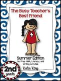 The Busy Teacher's Best Friend Summer Edition: SECOND GRADE