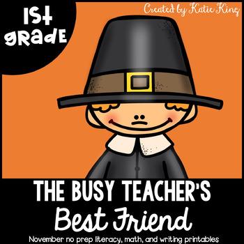 The Busy Teacher's Best Friend Thanksgiving Edition
