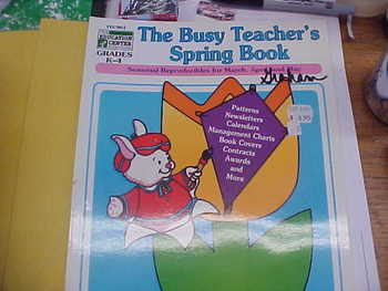 The Busy Teacher's Spring Book