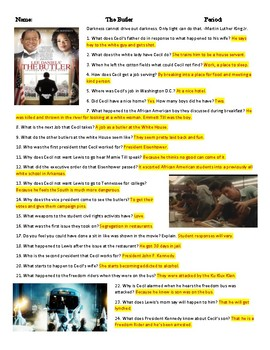 The Butler Movie Guide & Key