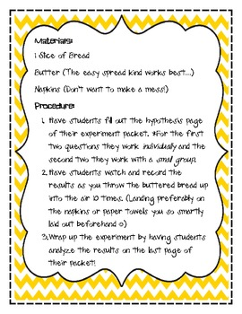 The Butter Battle Experiment