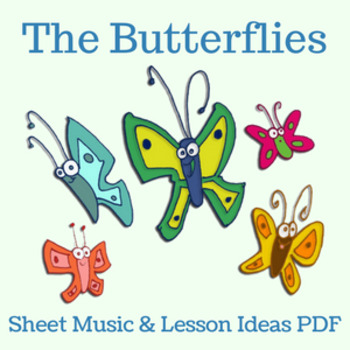 """The Butterflies"" by Lisa Gillam - Sheet Music and Lesson"