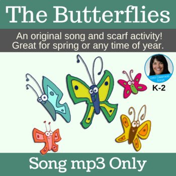 """Butterfly Song   """"The Butterflies"""" Scarf Activity Song   Song mp3"""