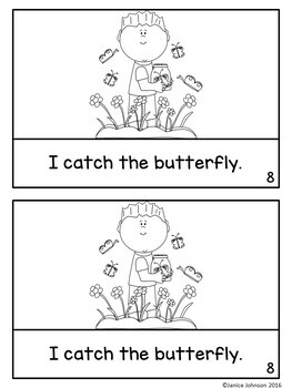 The Butterfly Emergent Reader Book {for young readers}+ BOOM™ Version with Audio