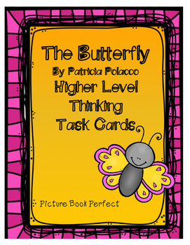 The Butterfly Higher Level Thinking Task Cards