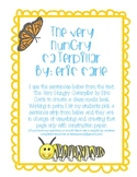 The Butterfly Life Cycle and The Very Hungry Caterpillar by Eric Carle