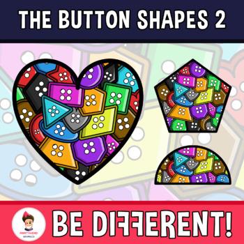 Button Shapes Clipart 2
