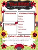 The Buzz-Ladybug themed Newsletter