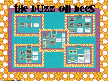 The Buzz On Bees ~ A Honeybee Unit