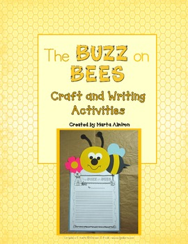 The Buzz on Bees - Craft and Writing Activities