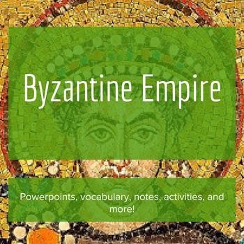 The Byzantine Empire - Lesson Bundle