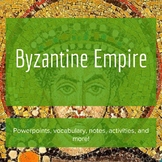 The Byzantine Empire - Lesson Bundle