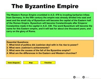 Byzantine Empire - Bill Burton