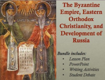 The Byzantine Empire, Eastern Orthodox Christianity, and D
