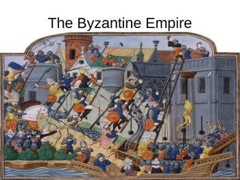 The Byzantine Empire PowerPoint, Justinian's Code, Fall of Rome.  History 101