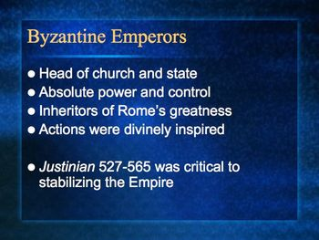 The Byzantine Empire PowerPoint for High School World or Ancient History