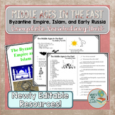 Middle Ages in the East Vocabulary Unit Byzantine, Islam,
