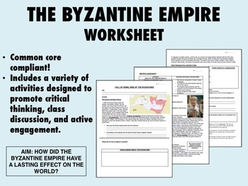the byzantine empire worksheet global world history common core. Black Bedroom Furniture Sets. Home Design Ideas