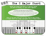 The C Major Chord for Piano