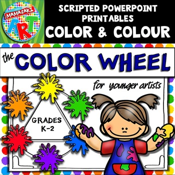 COLOR (COLOUR) Wheel for Younger Artists