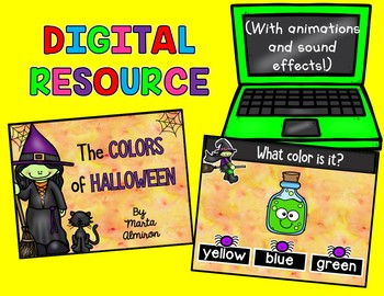 The COLORS of HALLOWEEN {Digital Resource and Write the Room}
