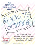 The COMPLETE Back-to-School Pack!
