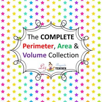 The COMPLETE Perimeter, Area & Volume Collection