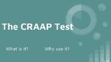The CRAAP Test Presentation