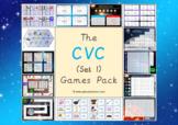 The CVC Games Pack (CVC Words Set 1)