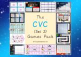 The CVC Games Pack (CVC Words Set 2)