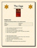 The Cage by Ruth Minsky Sender - Guided Question Sheet with Essay Topics
