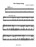 The Caisson Song for Tone Chimes/ Choir Chimes