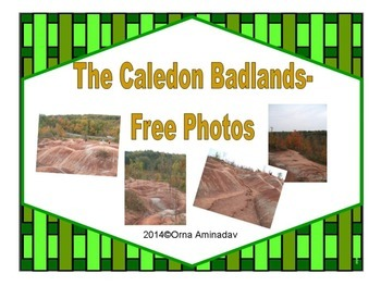The Caledon Badlands-free photos