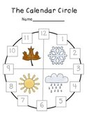 The Calendar Circle (Months, Seasons,&  Holidays throughou