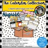 The Calendar Collection Digital Teacher Planner & Interact