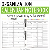 The Calendar Notebook: Free Updates for Life!