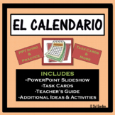 The Calendar and Date (El Calendario y la Fecha) PPT and T