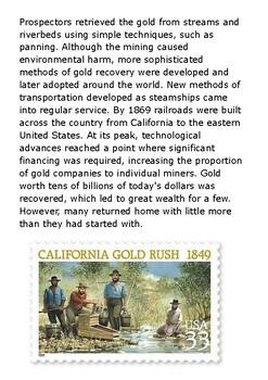 The California Gold Rush Handout