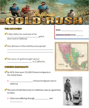 The California Gold Rush Prezi