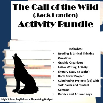 The Call of the Wild Activity Bundle (Jack London) Word Version