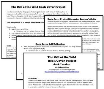 The Call of the Wild Book Cover Project (Jack London)